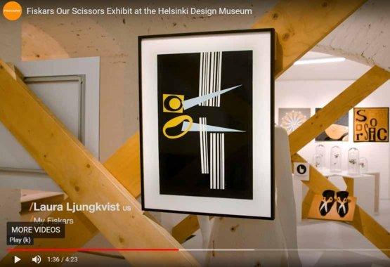 Mūsu Šķēru Izstāde Helsinku Dizaina Muzejā VIDEO