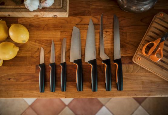 Virtuves naži ikvienam griešanas veidam
