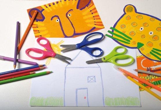 Drošāks veids, kā bērniem apgūt radošo griešanu