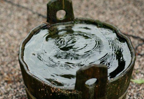 Uzkrājiet lietus ūdeni