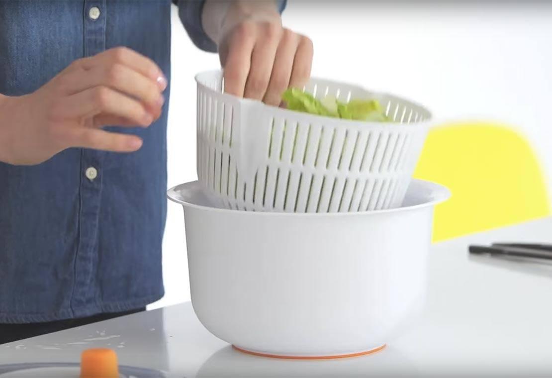 Salātu mazgātājs/žāvētājs